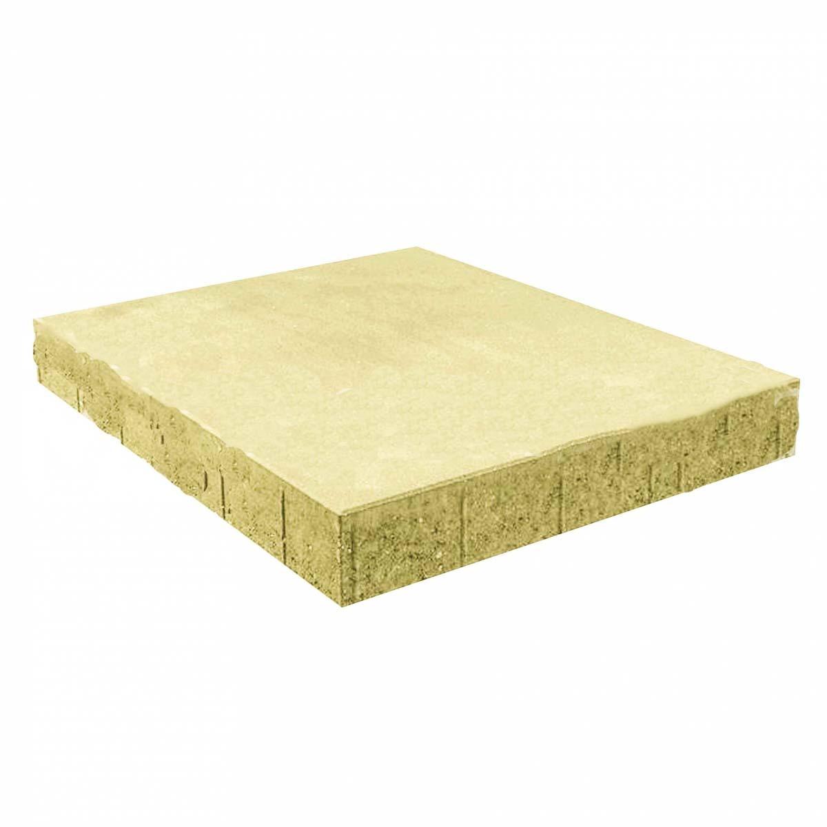 Тротуарная плитка вибропрессованный Квадрат 500х500х70